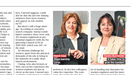 Financial Mail – Women In Mining Blasting Through, page 2