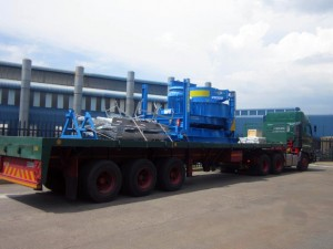VS350 Twister on its way to be delivered to Pilot Crushtec's customer, OMV