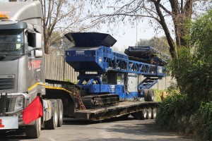 Pilot Crushtec International recently sold the Edge radial tracked stockpiler RTS80 to Just Coal