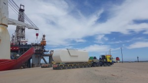 1.Vanguard's contract commenced with discharging the vessel and storage at the port of Ngqura
